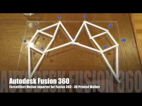 ForceEffect Motion Walker 3D Print