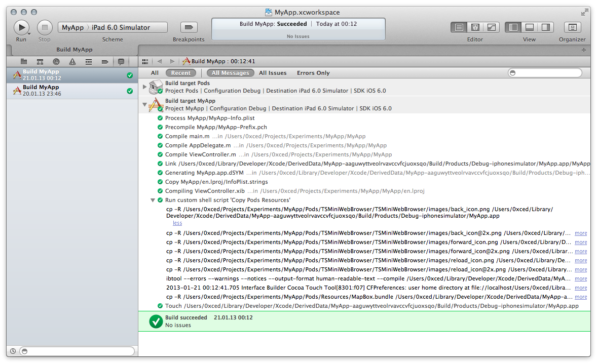 Copy Pods Resources Script Phase