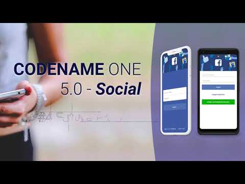 5 Amazing Features in Codename One 5.0 - Social