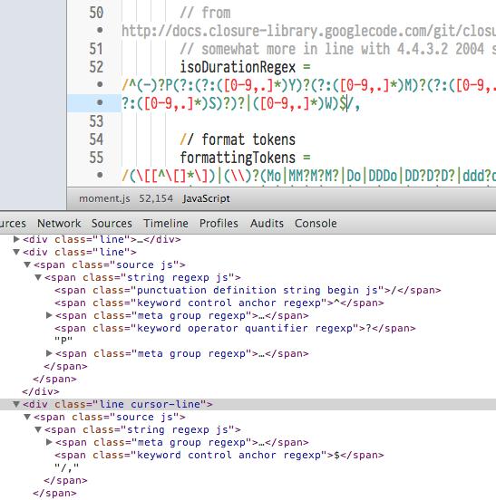 Regex Breaking Rest Of Script Colouring Issue 9 Atomlanguage