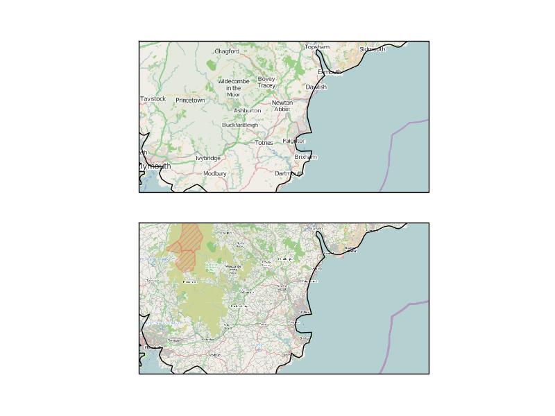 Coastline vs OSM alignment · Issue #384 · SciTools/cartopy
