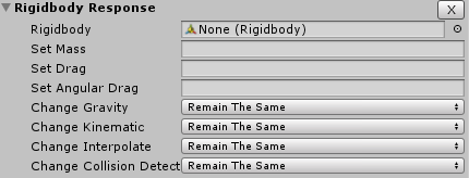 Rigidbody Response