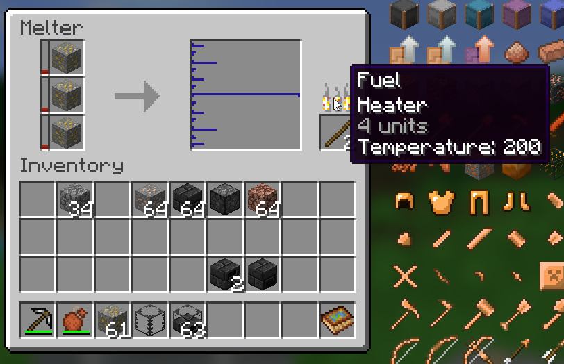 1 12 2] Some ores melting despite required temperature being