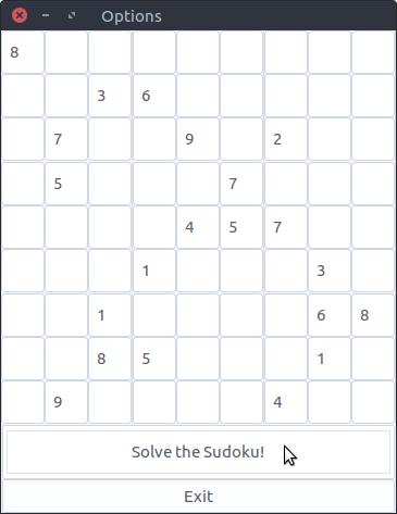 GitHub - alex-benoit/sudokusolver: Graphical Sudoku Solver