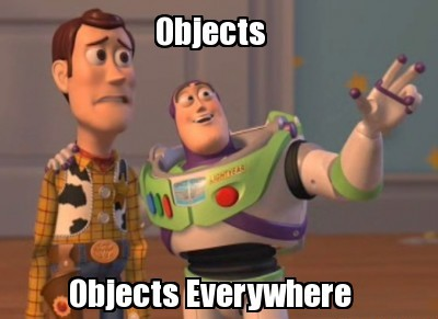 objects everywhere