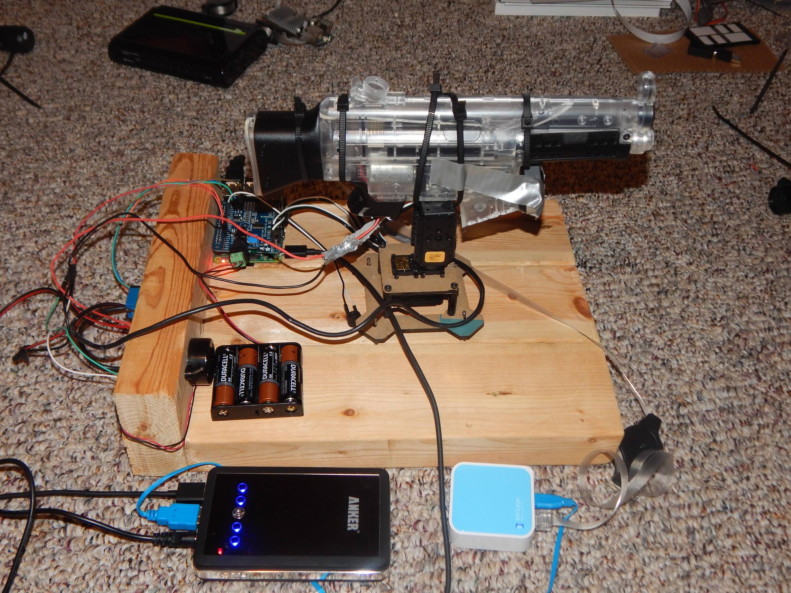 GitHub - matt-desmarais/SentryTurret: A sentry turret style robot