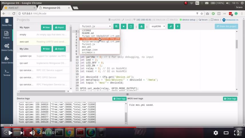GitHub - mongoose-os-apps/aws-uart