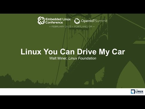 Linux You Can Drive My Car