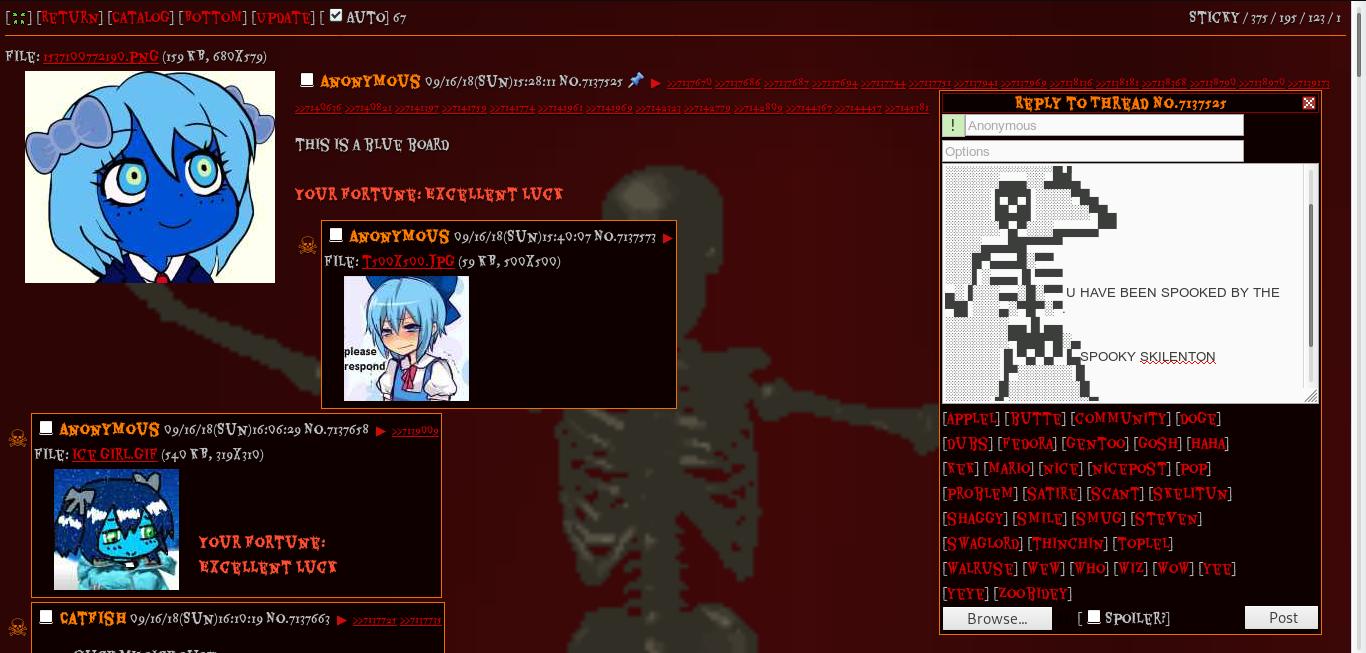 4Chan Gif github - doctorwth/4chan-halloween-css-2018: makes 4chan