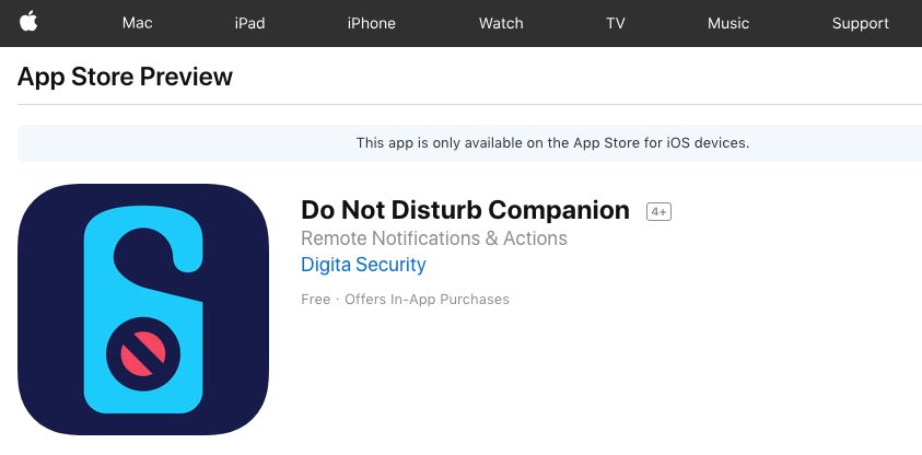 Availability of iOS Companion App · Issue #6 · objective-see