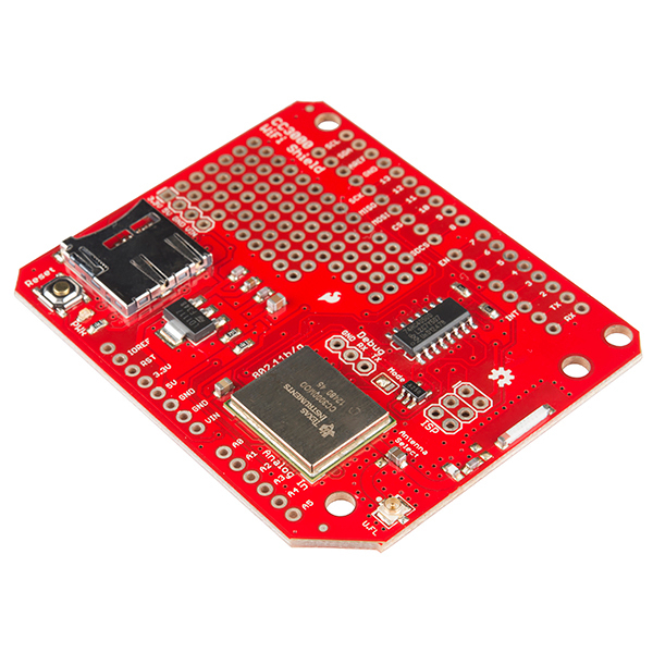 GitHub - sparkfun/CC3000_WiFi_Shield: CC3000 WiFi shield for Arduino
