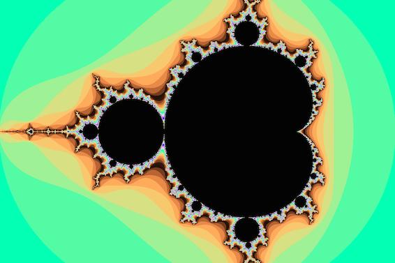 mandelbrot color