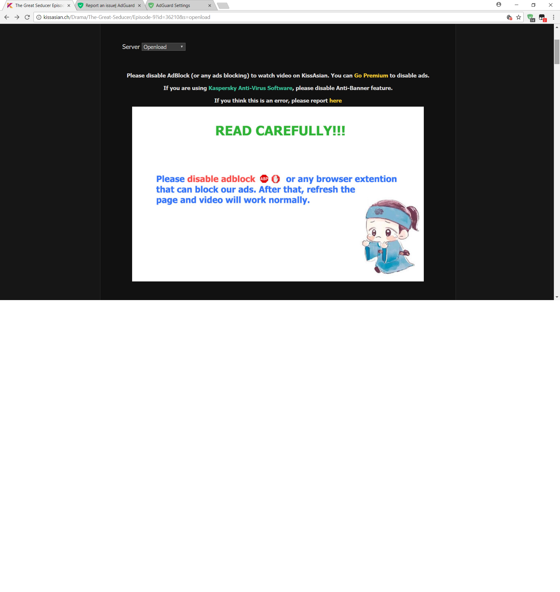 Kissasian Blocked