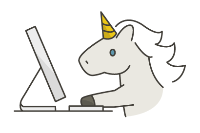 It's a unicorn coding