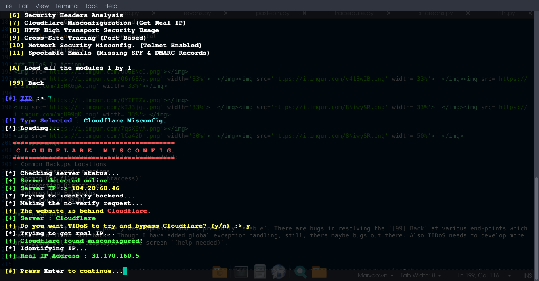 TIDoS - The Offensive Web Application Penetration Testing Framework