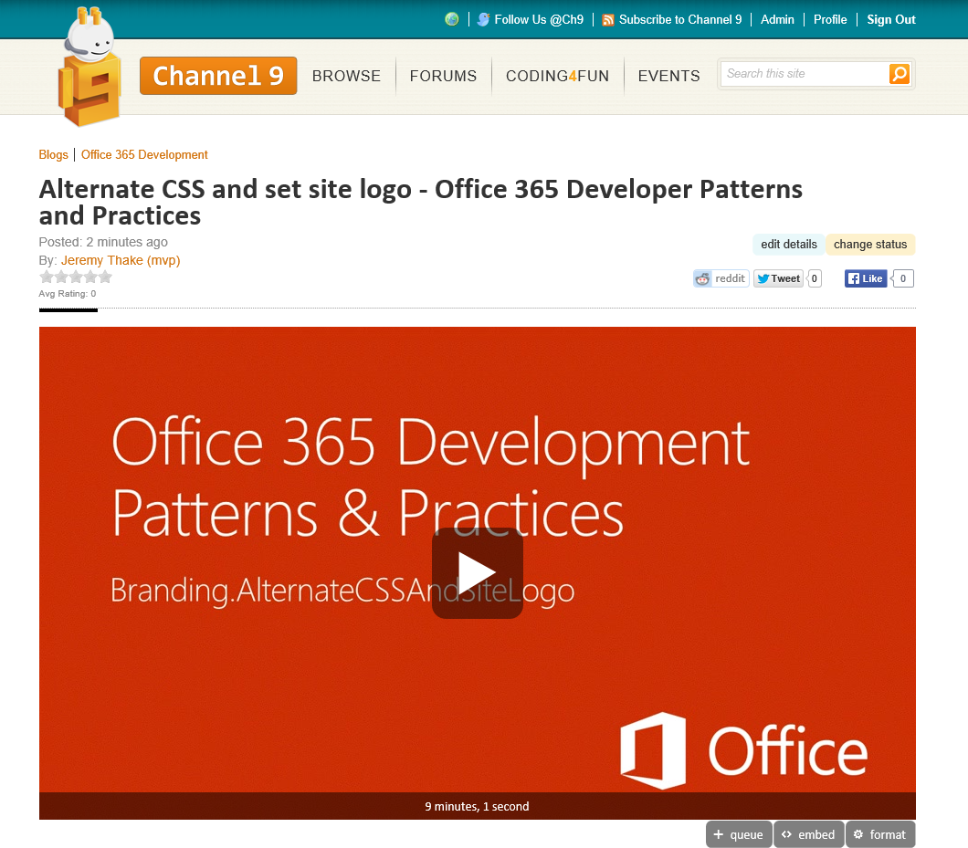 http://channel9.msdn.com/Blogs/Office-365-Dev/Alternate-CSS-and-set-site-logo-Office-365-Developer-Patterns-and-Practices