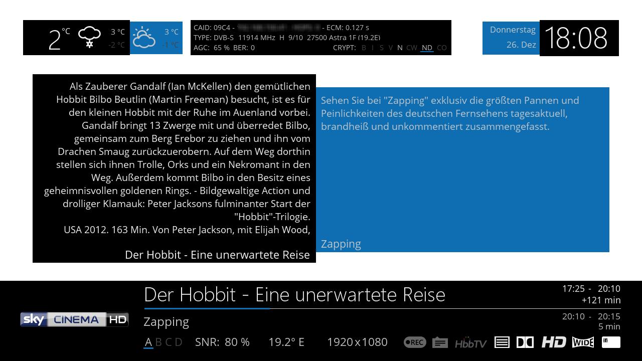 GitHub - openatv/MetrixHD: openATV default skin