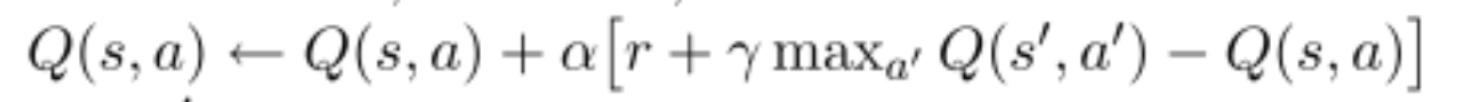 q-learning td error