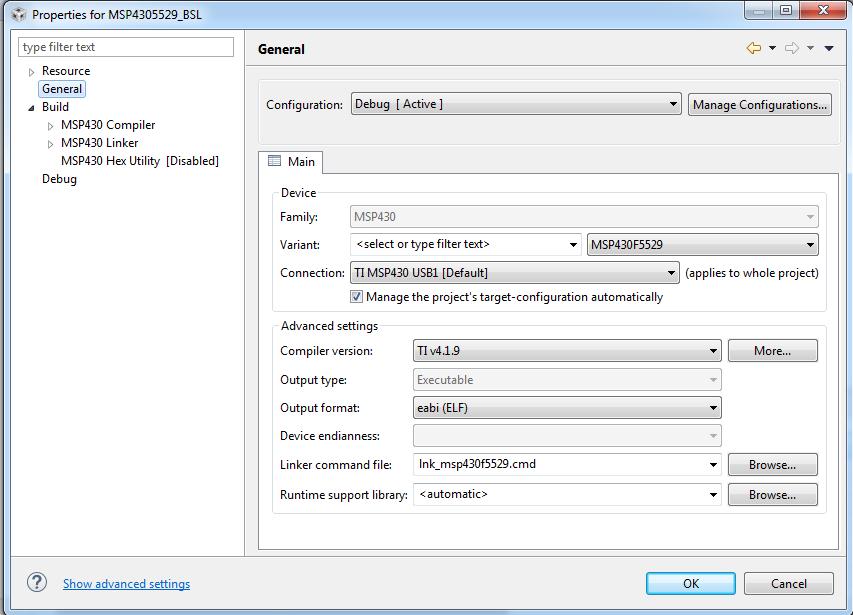 GitHub - rafaellcoellho/bsl-msp430: Using the scripts available in