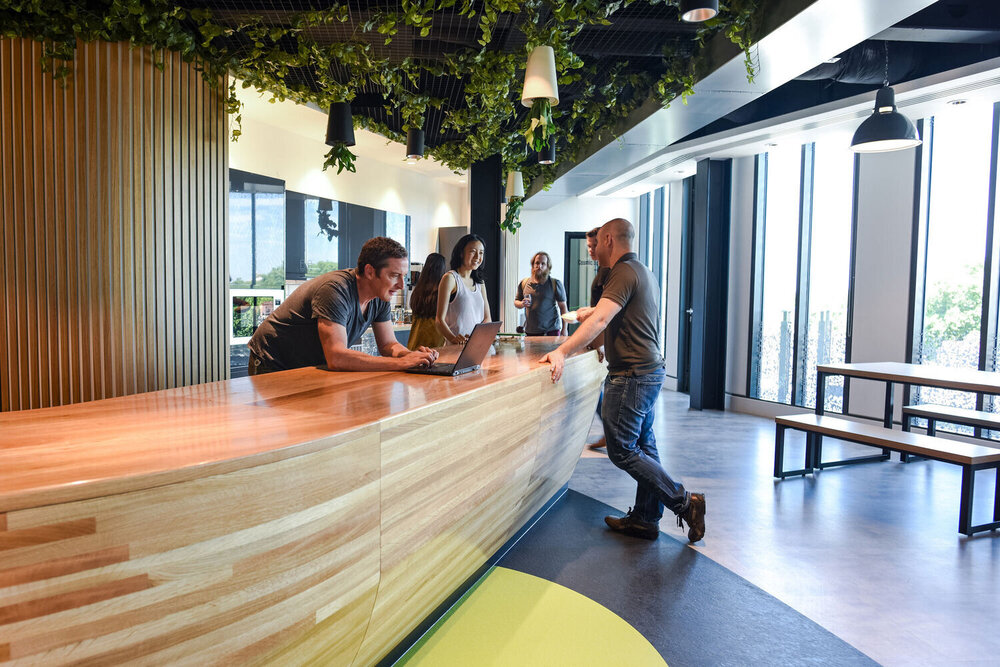 Skyscanner Office: Reception