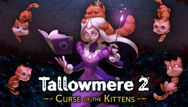 Tallowmere 2: Curse of the Kittens – banner