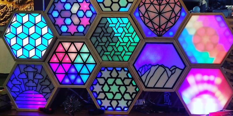 Digital Stained glass workshop