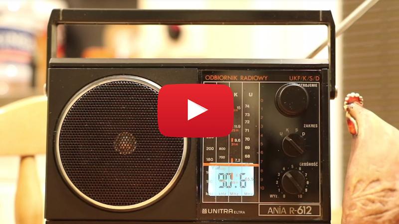 Video of Unitra ANIA running Arduino