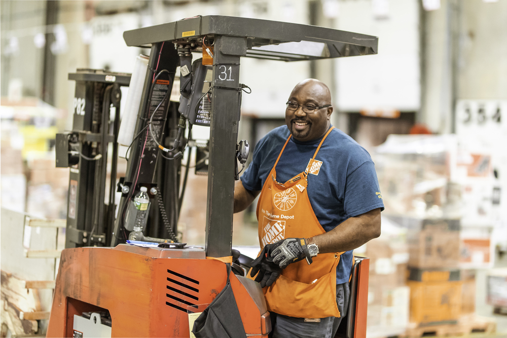 The Home Depot: Forklift Operator