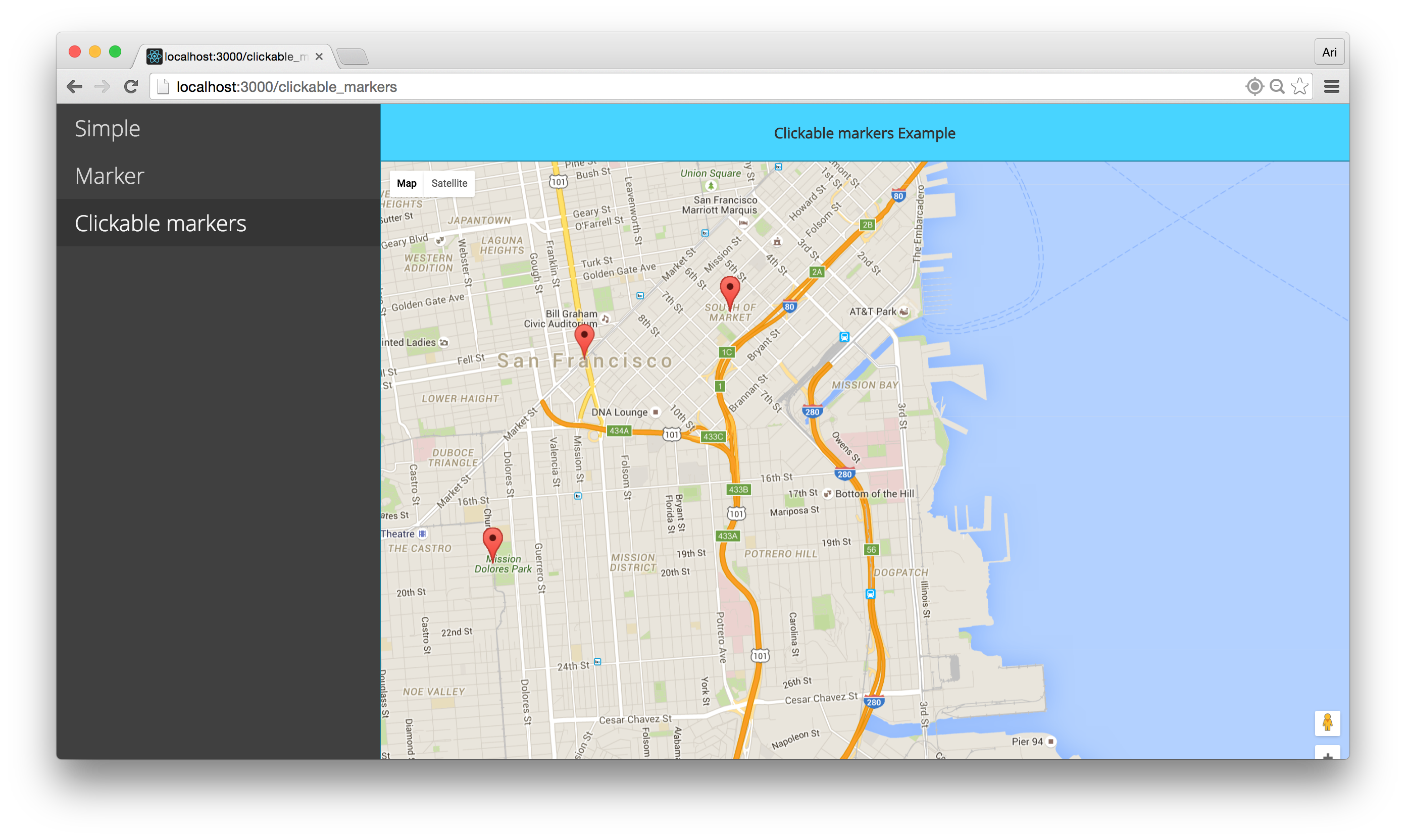 GitHub - fullstackreact/google-maps-react: Companion code to the