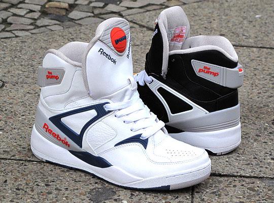 reebok air pump sneakers 90s