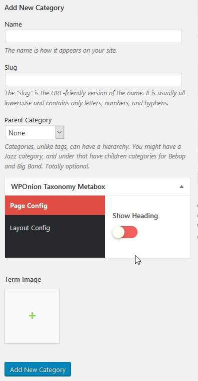 WPOnion Framework Screenshot