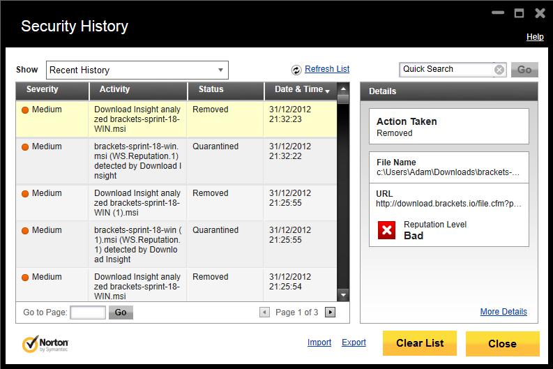Sav 9 symantec antivirus 9. 0 application installs msfn.