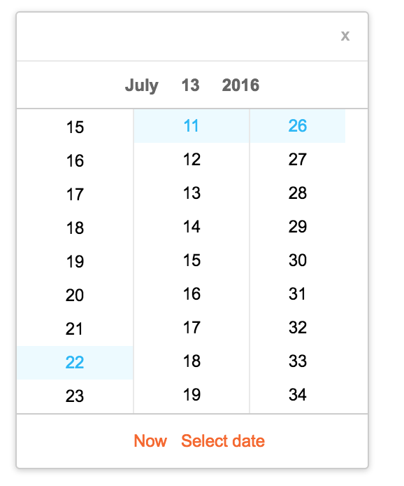 Year Calendar React : Github react component calendar