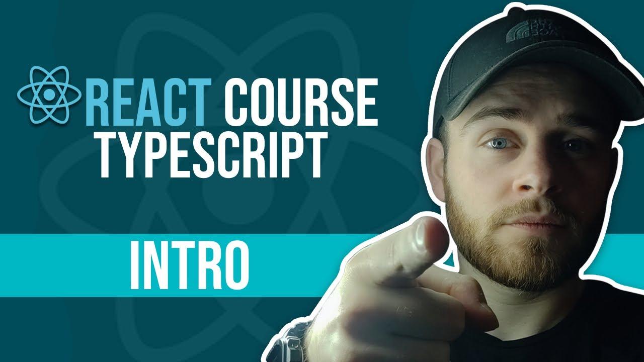 react typescript course video series