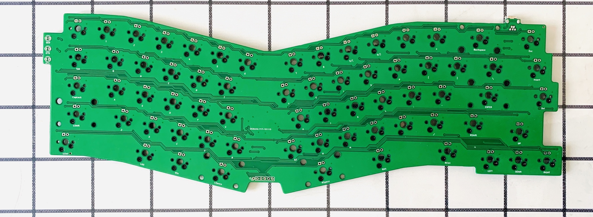 Wm1 front side of Pcb