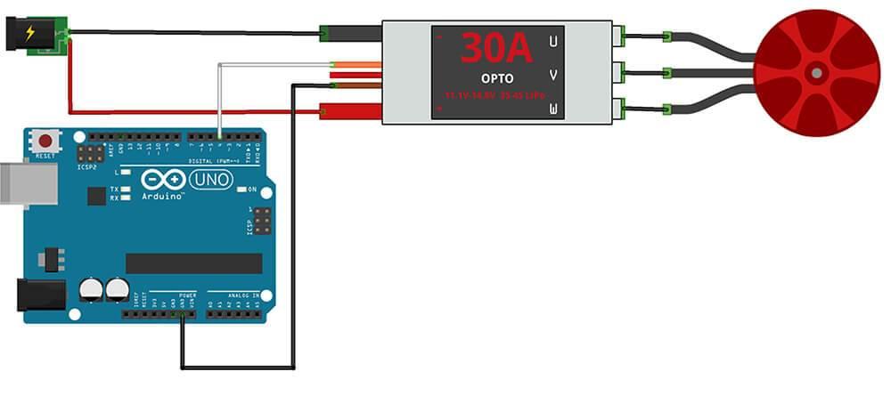 GitHub - lobodol/ESC-calibration: Arduino sketch to