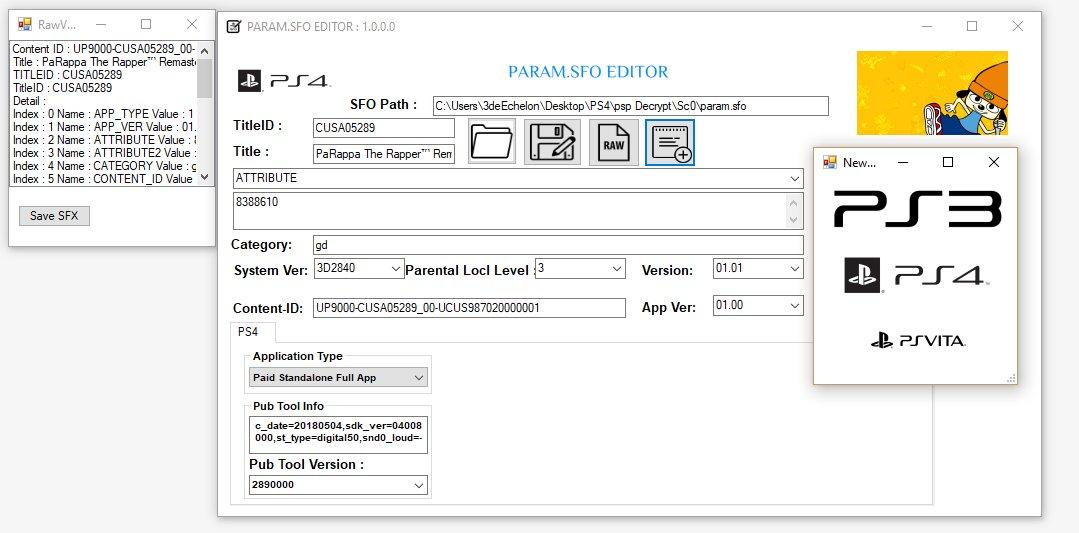 GitHub - xXxTheDarkprogramerxXx/PS3Tools: Open Source PlayStation Tools