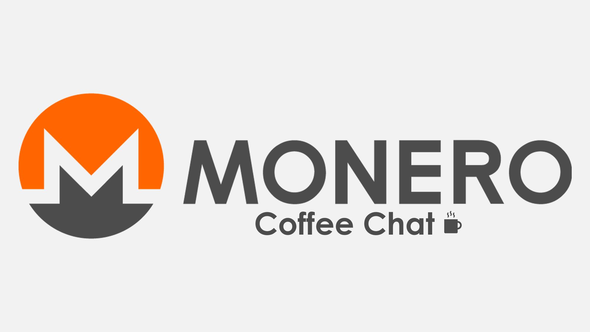 Monero Coffee Chat