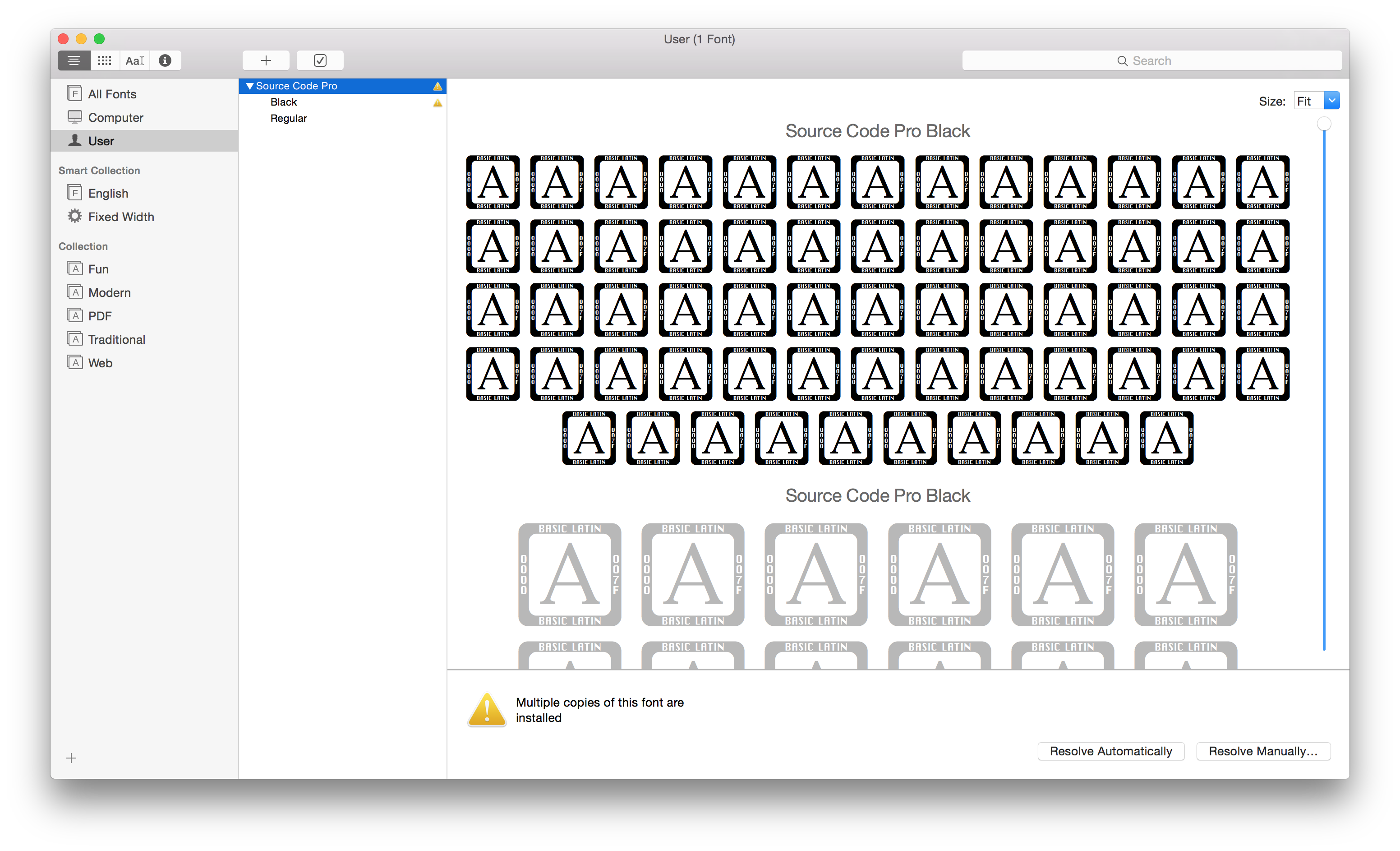 Import all font inside Font Book on Yosemite · Issue #78 · adobe