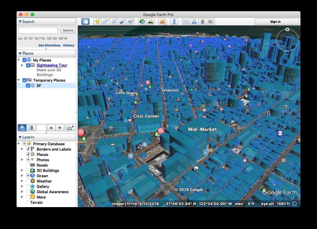 3d City Screenshot