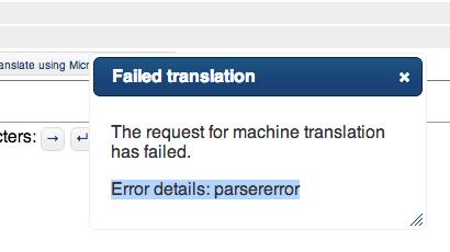 Move to new Bing translator API · Issue #206 · WeblateOrg