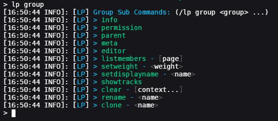 Usage · lucko/LuckPerms Wiki · GitHub