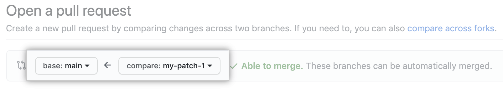 pull request image