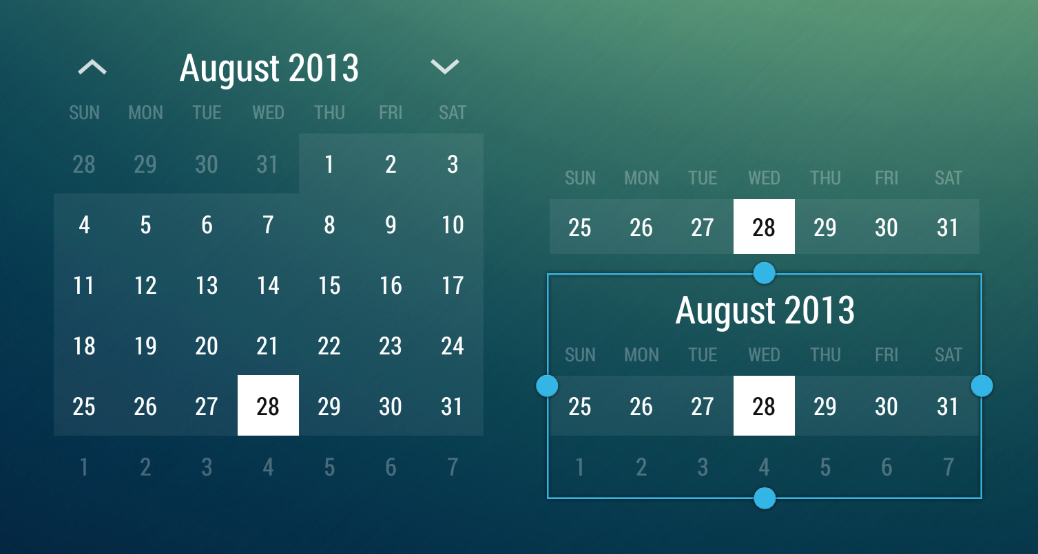 Github Romannurik Android Monthcalendarwidget A Simple Example Of