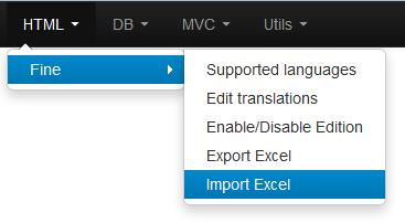 FINE export