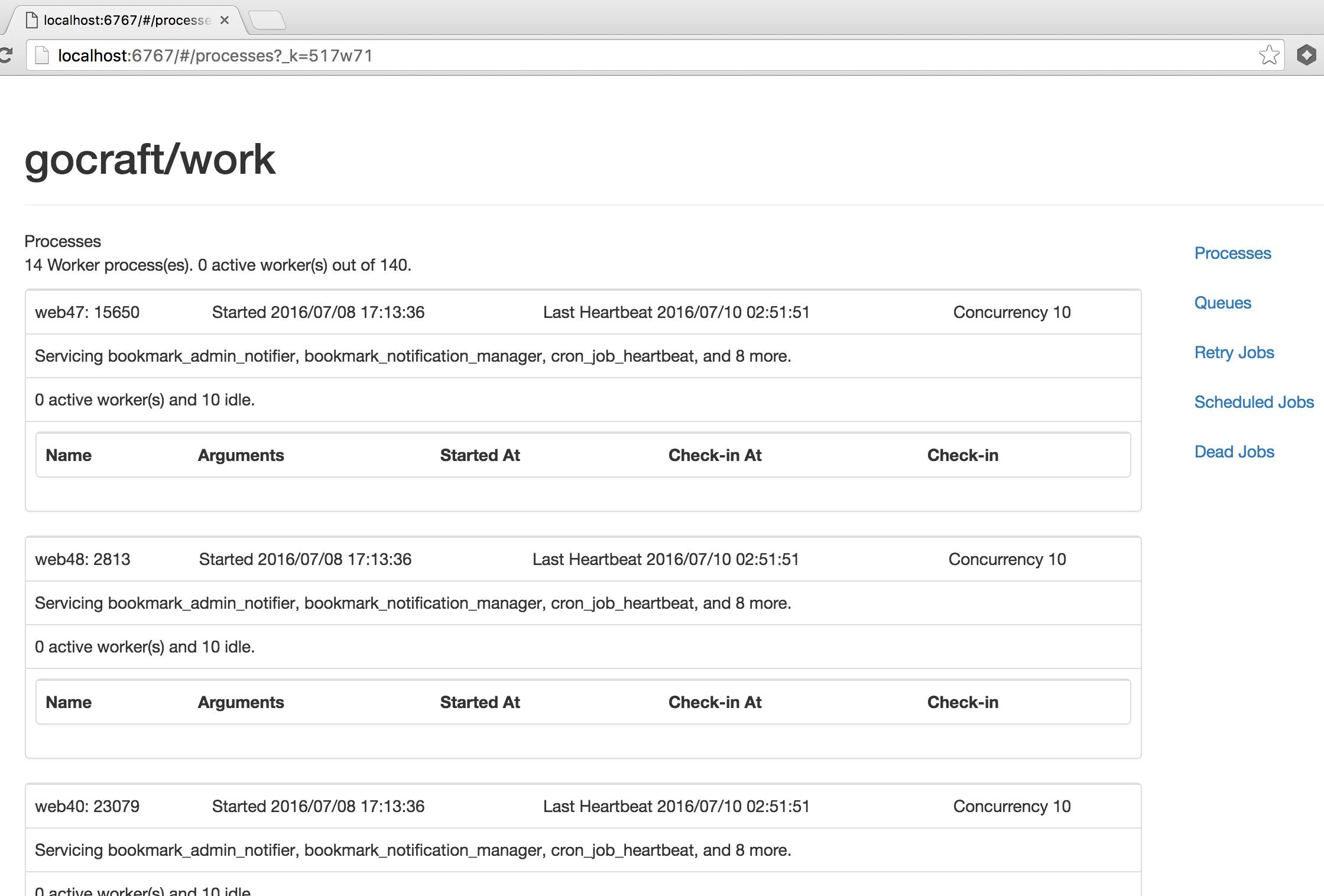 Web UI Screenshot