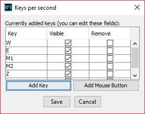 Key config