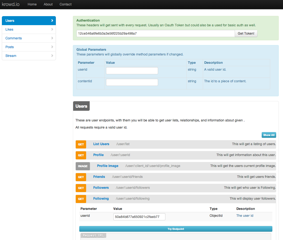 GitHub - krowdify/kaddy: A Bootstrap API explorer configured