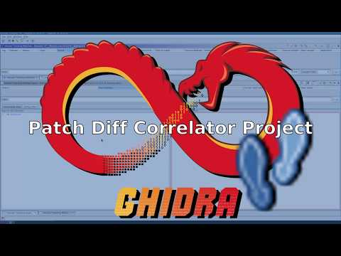 Youtube video introducing the PatchDiffCorrelator Project