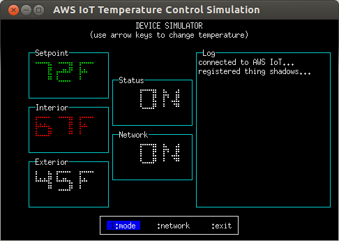 temperature-control.js, 'device' mode